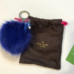 Kate Spade Peacock Key Chain